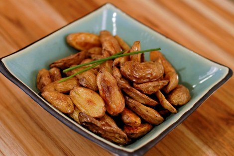 salt and pepper fingerlings: foodie with a life