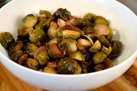 roasted brussels: foodie with a life