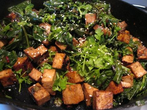 tofu kale