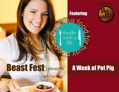 Beast Fest: The Cookbook by Christina Conrad - foodie with a life