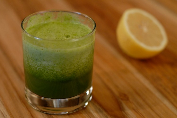 spinach, lemon, detox, smoothie