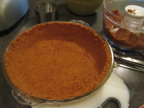 gingersnap crust: foodie with a life